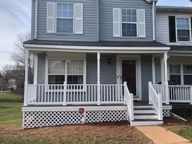 Porch Rail and Deck